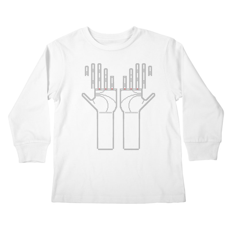 Hands (Mano a Mão) [Nullsleep Limited Edition] Kids Longsleeve T-Shirt by minusbaby
