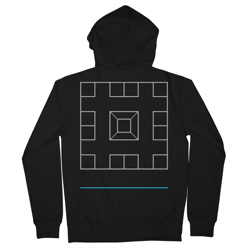 Games People Play: Skellzies,  Nº 1 Men's French Terry Zip-Up Hoody by minusbaby