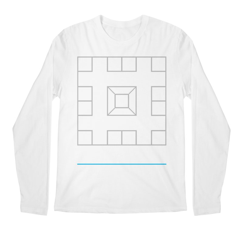 Games People Play: Skellzies,  Nº 1 Men's Regular Longsleeve T-Shirt by minusbaby