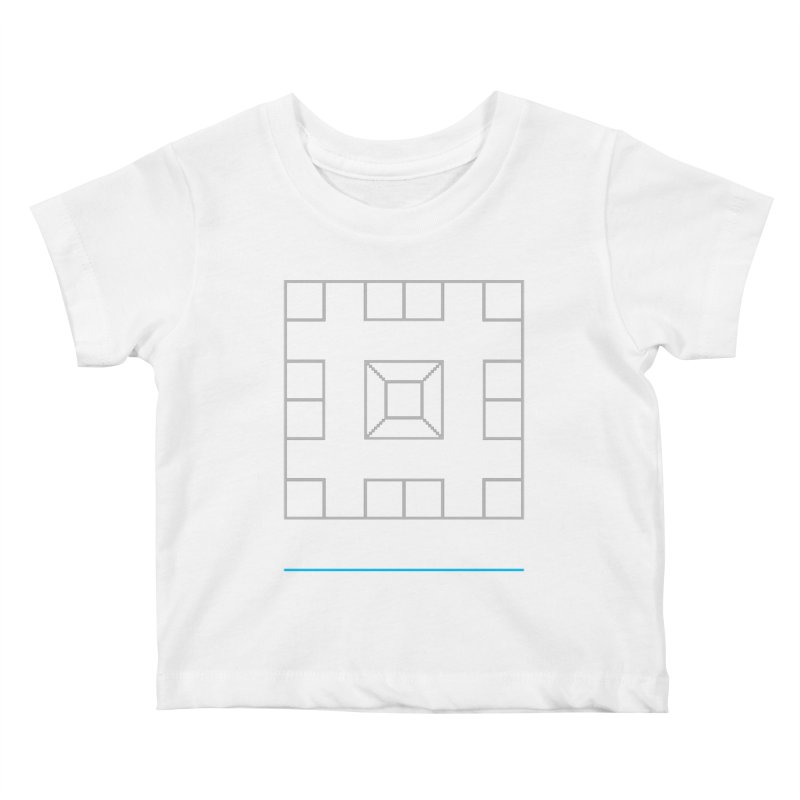 Games People Play: Skellzies,  Nº 1 Kids Baby T-Shirt by minusbaby