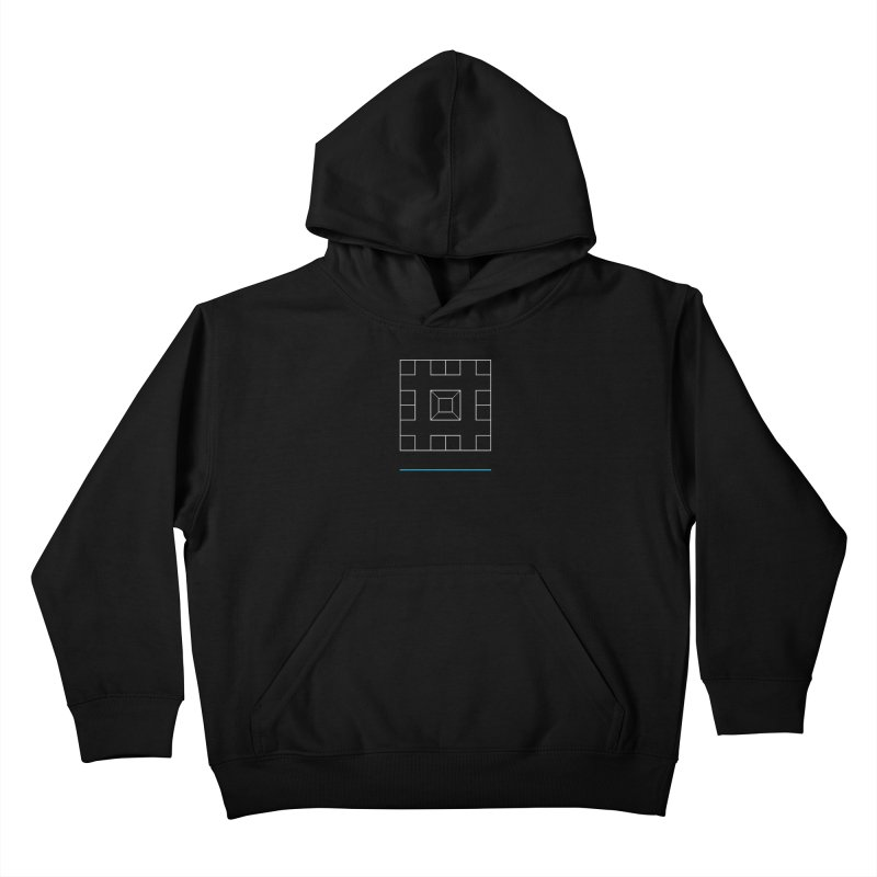 Games People Play: Skellzies,  Nº 1 Kids Pullover Hoody by minusbaby