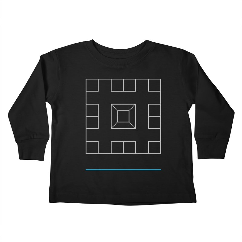 Games People Play: Skellzies,  Nº 1 Kids Toddler Longsleeve T-Shirt by minusbaby