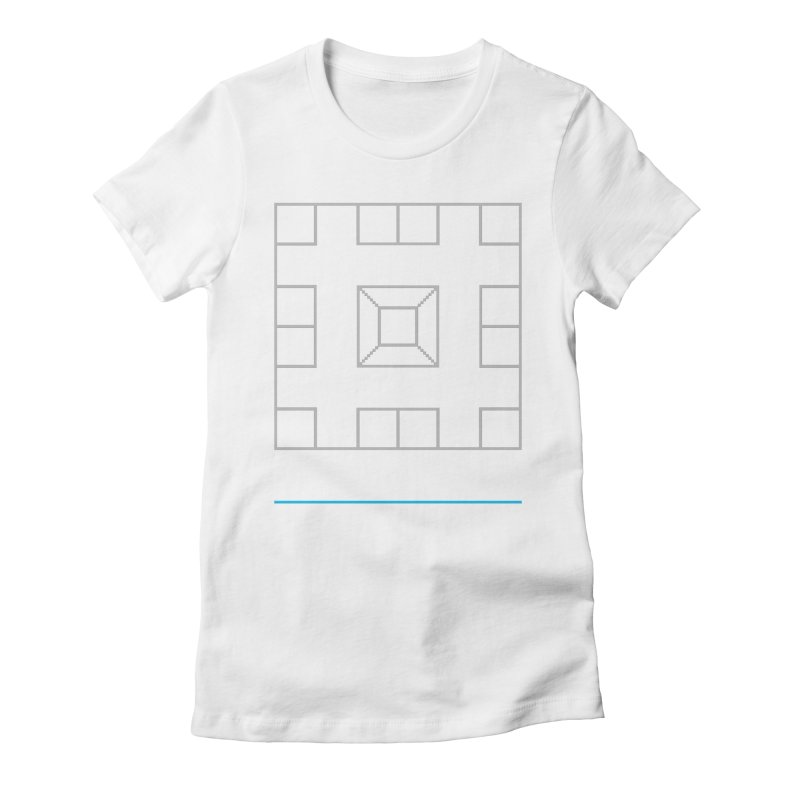 Games People Play: Skellzies,  Nº 1 Women's Fitted T-Shirt by minusbaby