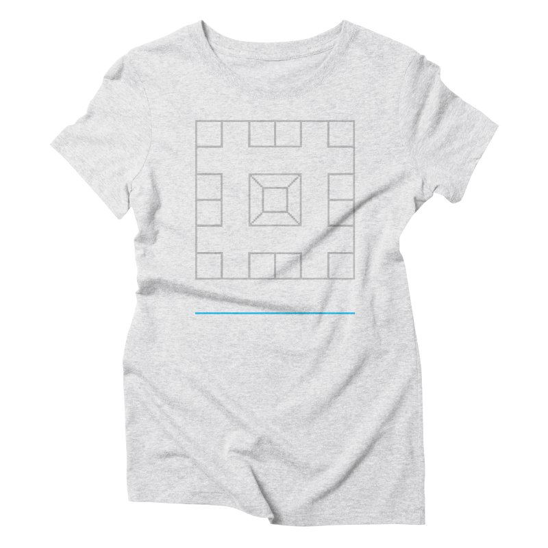 Games People Play: Skellzies,  Nº 1 Women's Triblend T-Shirt by minusbaby