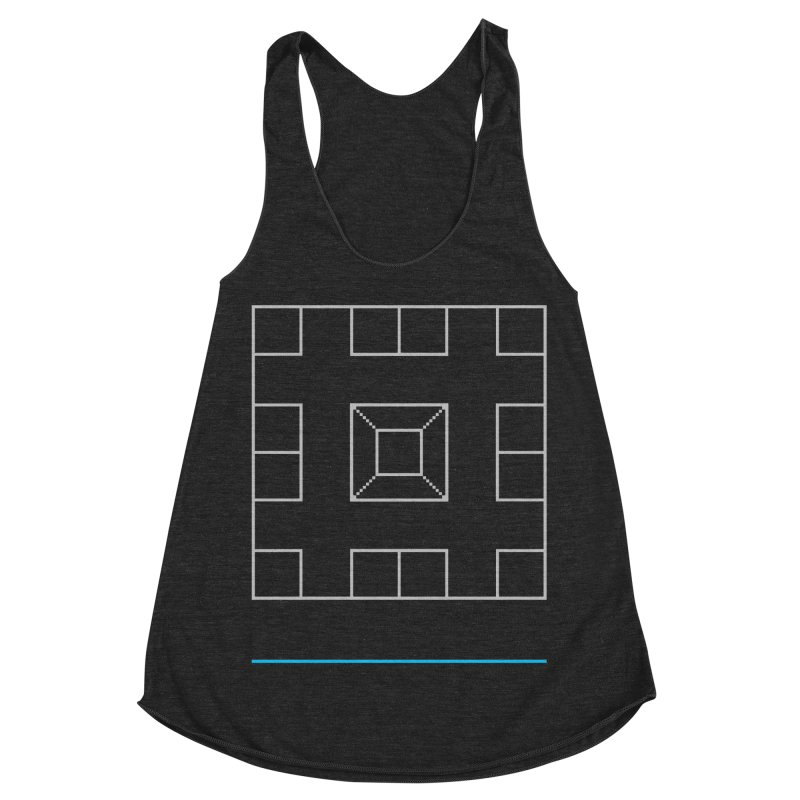 Games People Play: Skellzies,  Nº 1 Women's Racerback Triblend Tank by minusbaby
