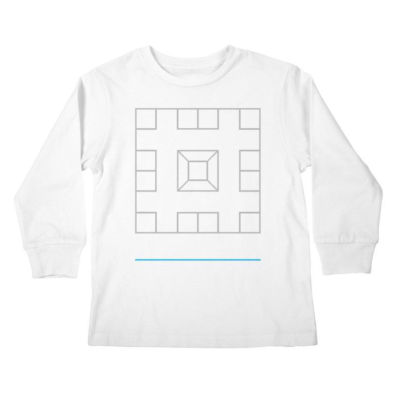 Games People Play: Skellzies,  Nº 1 Kids Longsleeve T-Shirt by minusbaby