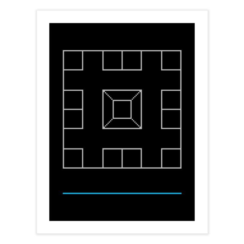 Games People Play: Skellzies,  Nº 1 Home Fine Art Print by minusbaby