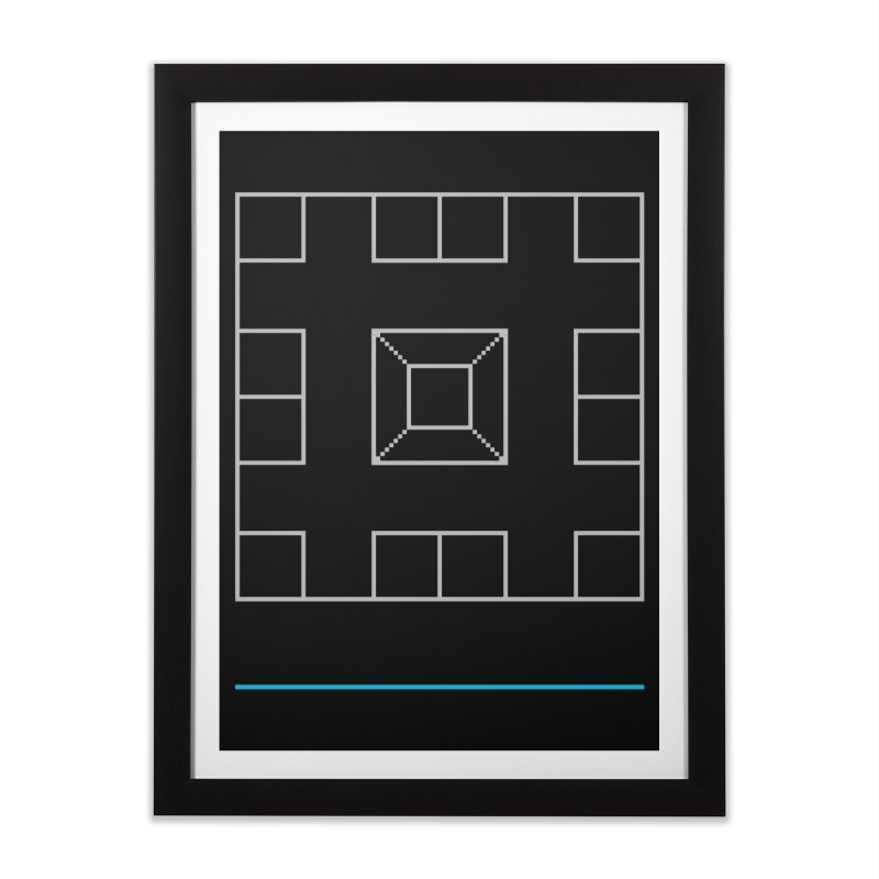 Games People Play: Skellzies,  Nº 1 Home Framed Fine Art Print by minusbaby