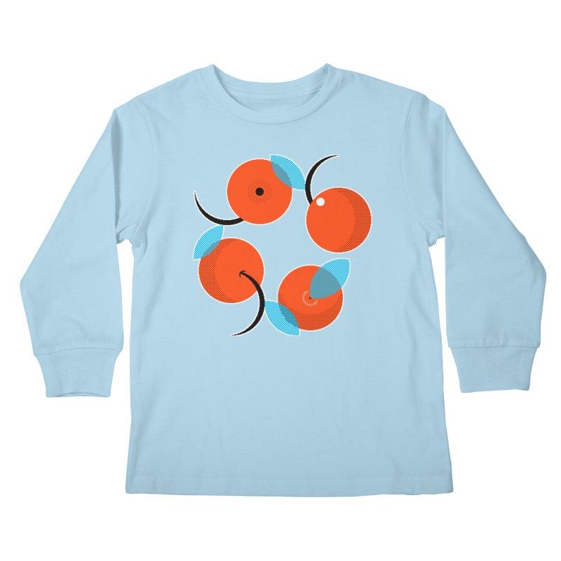 Manda Mandarinas [Limited Edition Abuelita Version] Kids Longsleeve T-Shirt by minusbaby