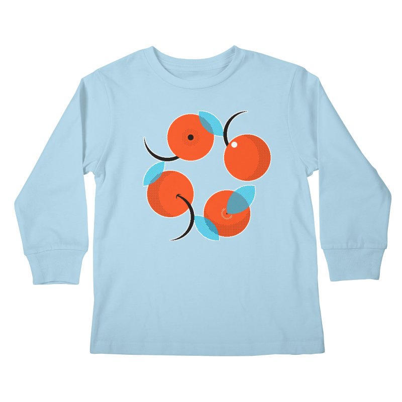 Manda Mandarinas [Limited Edition Abuelita Version] Kids Longsleeve T-Shirt by minusbaby