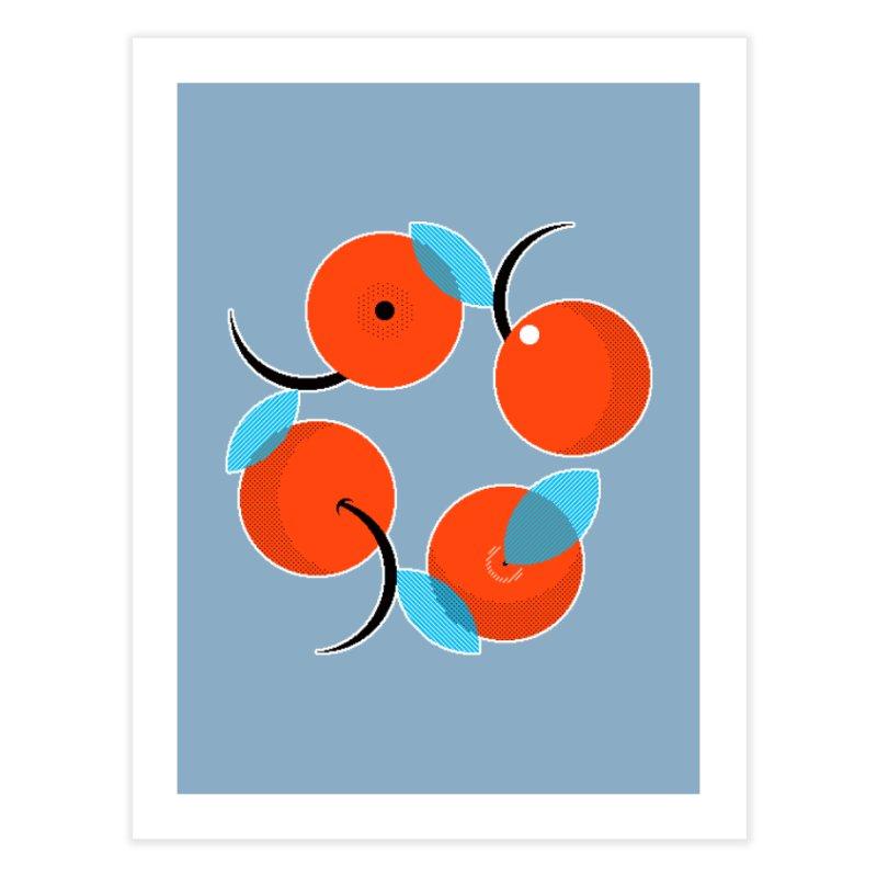 Manda Mandarinas [Limited Edition Abuelita Version] Home Fine Art Print by minusbaby