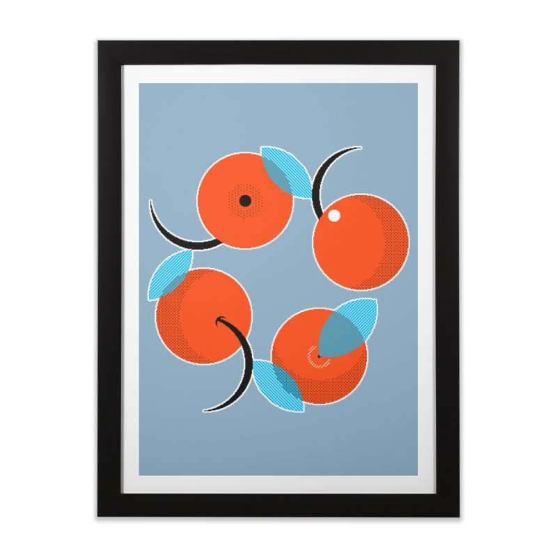 Manda Mandarinas [Limited Edition Abuelita Version] Home Framed Fine Art Print by minusbaby
