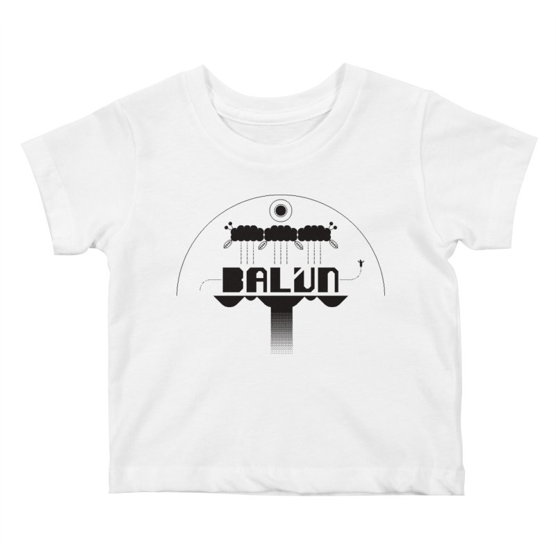 Balún 2008 Kids Baby T-Shirt by minusbaby