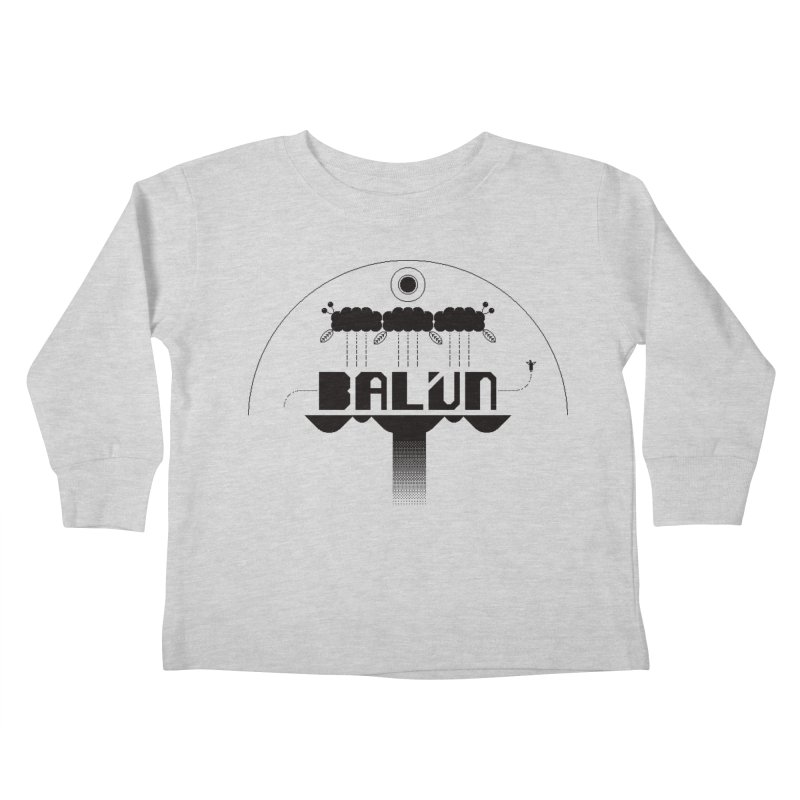 Balún 2008 Kids Toddler Longsleeve T-Shirt by minusbaby