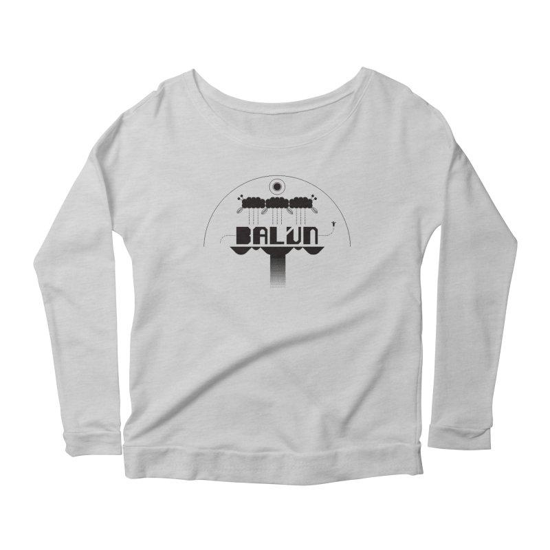 Balún 2008 Women's Scoop Neck Longsleeve T-Shirt by minusbaby