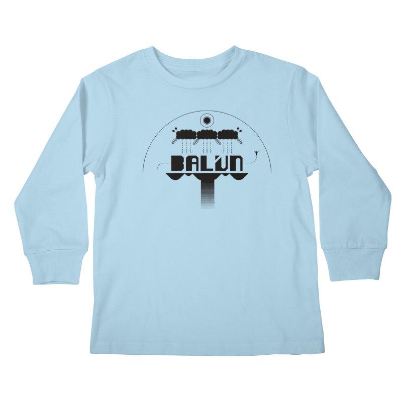 Balún 2008 Kids Longsleeve T-Shirt by minusbaby