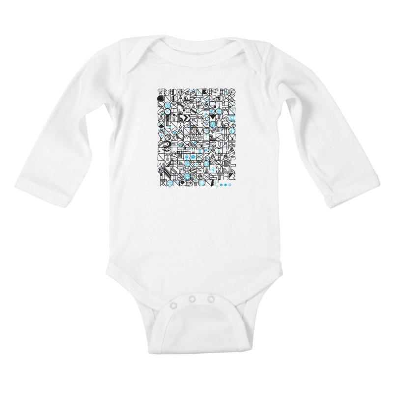 F–4000 Kids Baby Longsleeve Bodysuit by minusbaby