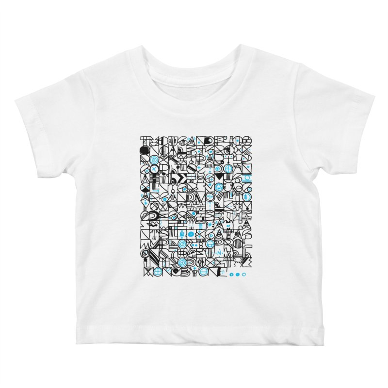 F–4000 Kids Baby T-Shirt by minusbaby