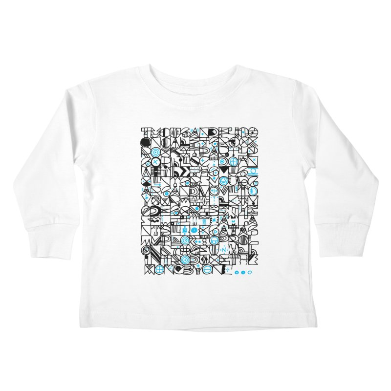 F–4000 Kids Toddler Longsleeve T-Shirt by minusbaby