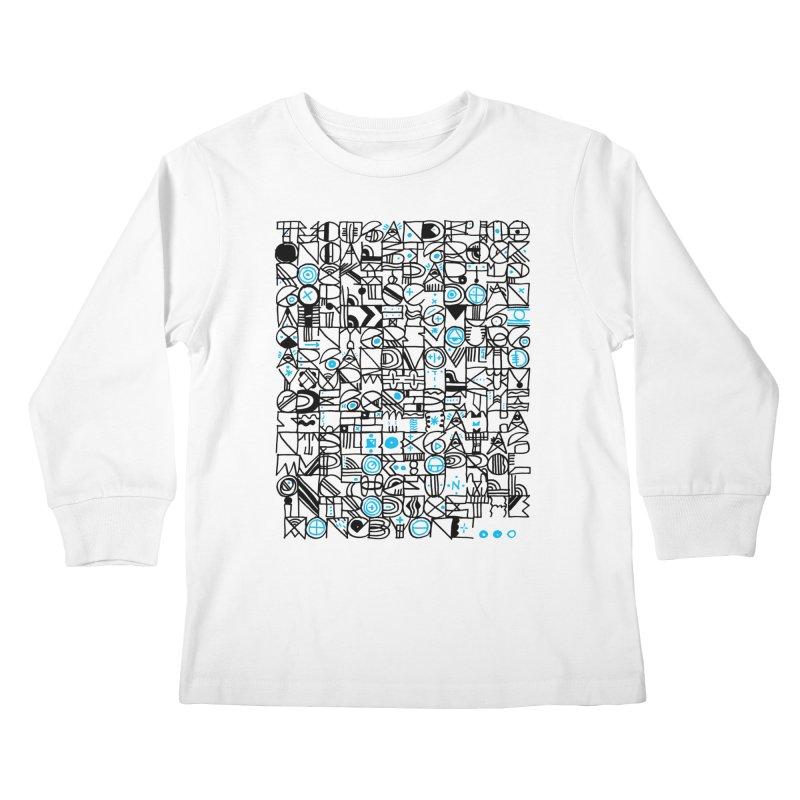 F–4000 Kids Longsleeve T-Shirt by minusbaby