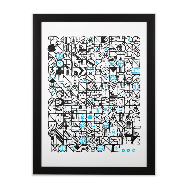 F–4000 Home Framed Fine Art Print by minusbaby