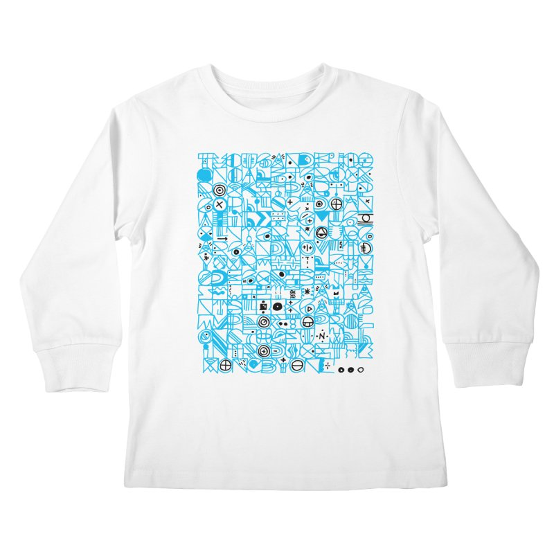 F–4000 Kids Longsleeve T-Shirt by minusbaby