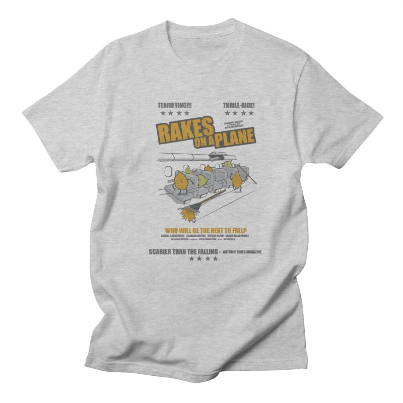 Rakes On A Plane Men's T-Shirt by mip1980's Artist Shop