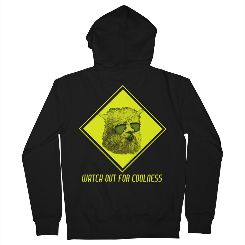 Watch out for coolness Men's Zip-Up Hoody by Mirabelle Digital Art shop