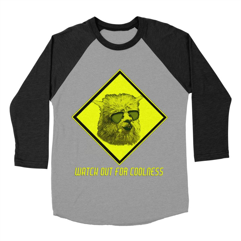 Watch out for coolness Men's Baseball Triblend T-Shirt by Mirabelle Digital Art shop