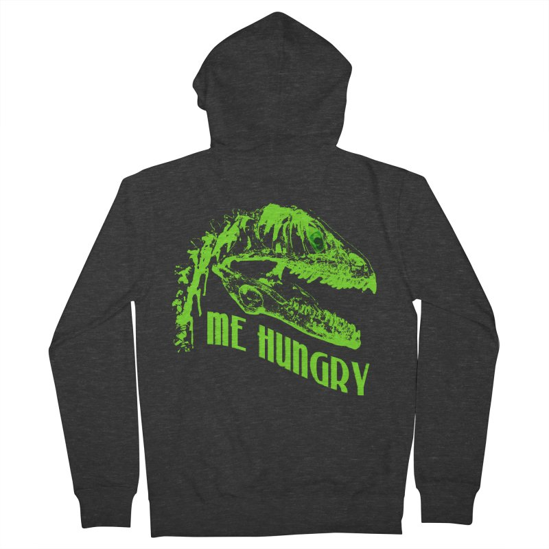 Me hungy! Men's French Terry Zip-Up Hoody by Mirabelle Digital Art shop