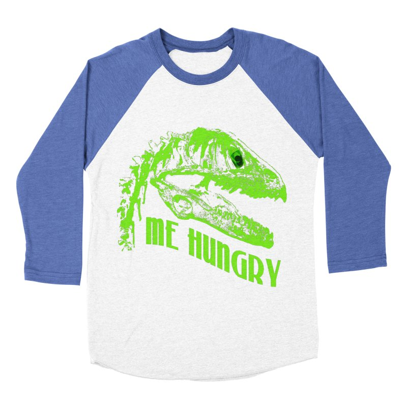 Me hungy! Men's Baseball Triblend T-Shirt by Mirabelle Digital Art shop
