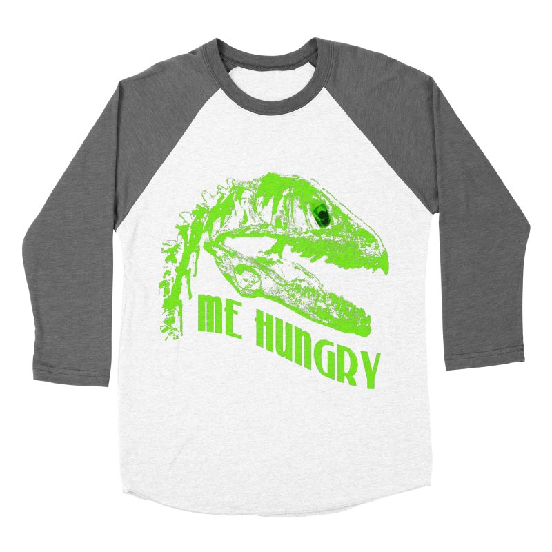 Me hungy! Men's Baseball Triblend T-Shirt by Mirabelle Digital Art shop