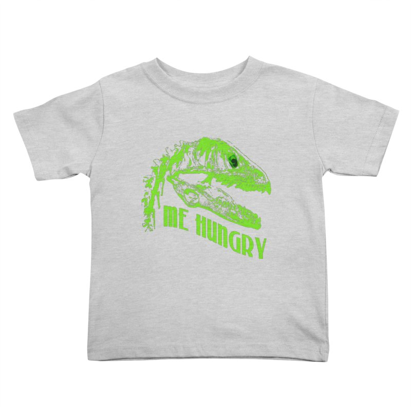 Me hungy! Kids Toddler T-Shirt by Mirabelle Digital Art shop