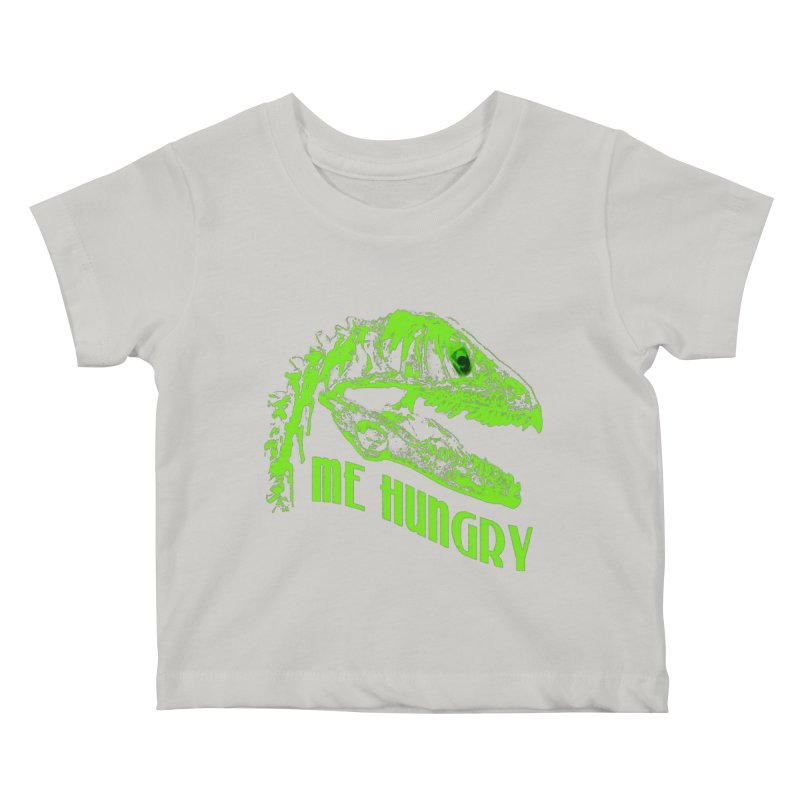 Me hungy! Kids Baby T-Shirt by Mirabelle Digital Art shop