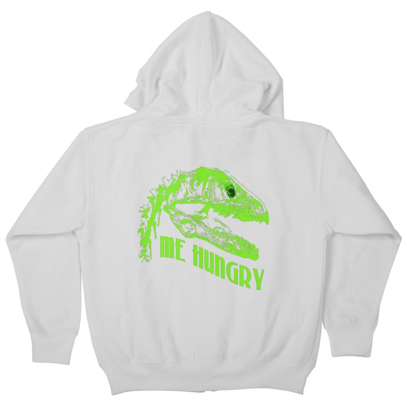 Me hungy! Kids Zip-Up Hoody by Mirabelle Digital Art shop
