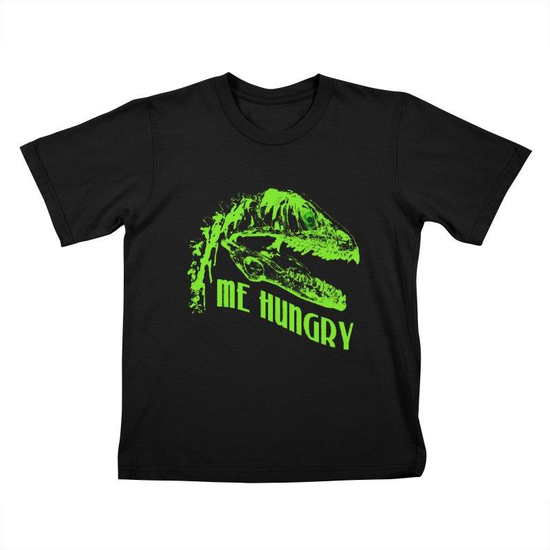 Me hungy! Kids T-Shirt by Mirabelle Digital Art shop