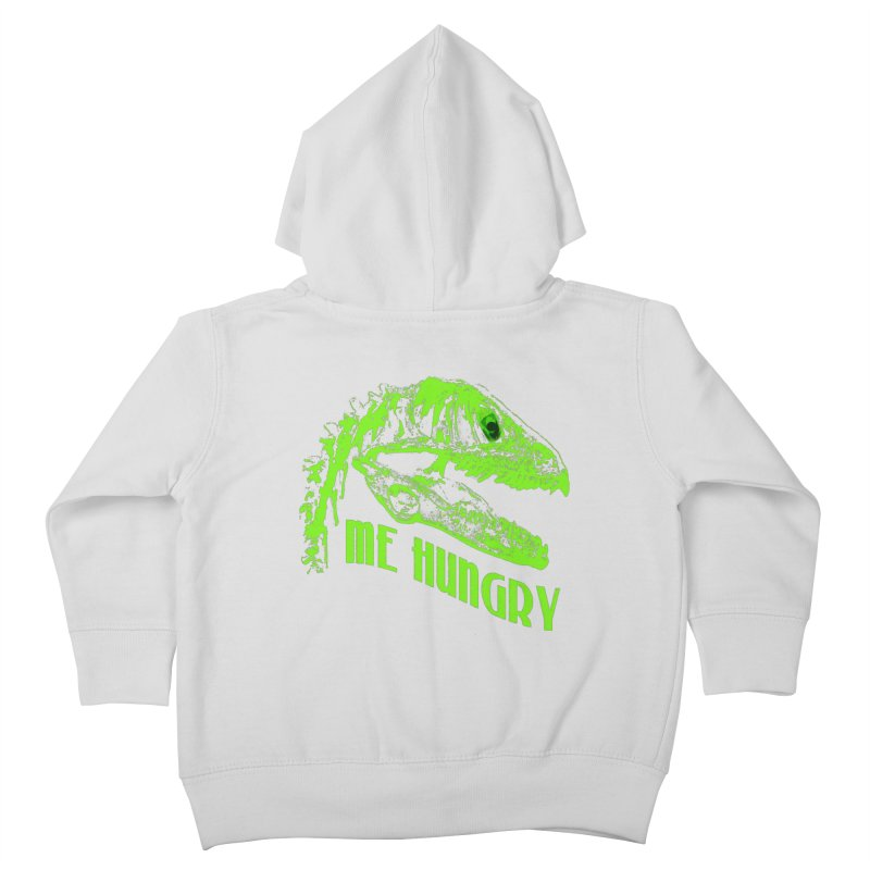 Me hungy! Kids Toddler Zip-Up Hoody by Mirabelle Digital Art shop