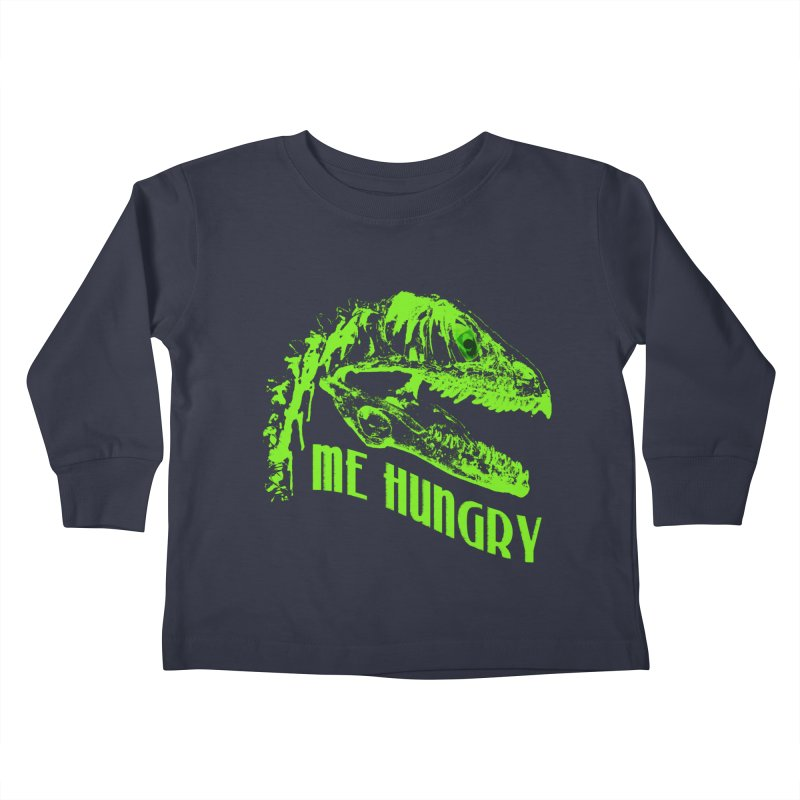 Me hungy! Kids Toddler Longsleeve T-Shirt by Mirabelle Digital Art shop