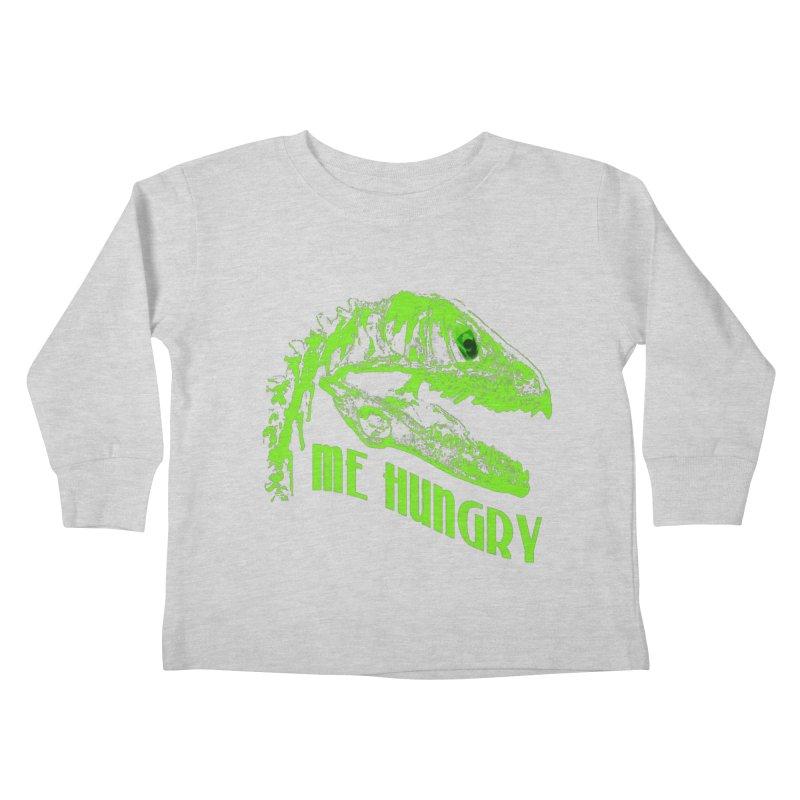 Me hungy! Kids Toddler Longsleeve T-Shirt by Mirabelle Digital Art shop