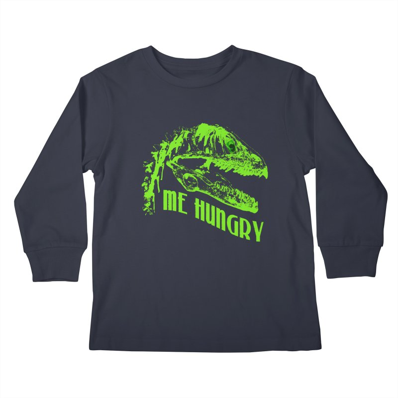 Me hungy! Kids Longsleeve T-Shirt by Mirabelle Digital Art shop