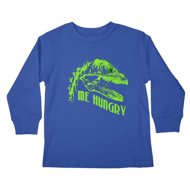 Me hungy! Kids Longsleeve T-Shirt by Mirabelle Digital Art shop