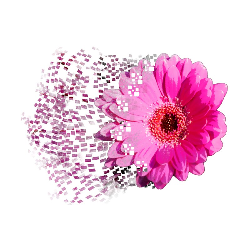 Pink gerbera flower by Mirabelle Digital Art shop