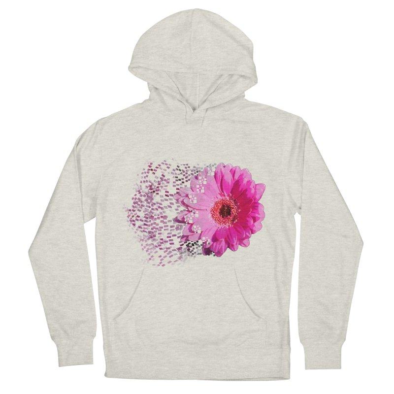 Pink gerbera flower Women's Pullover Hoody by Mirabelle Digital Art shop