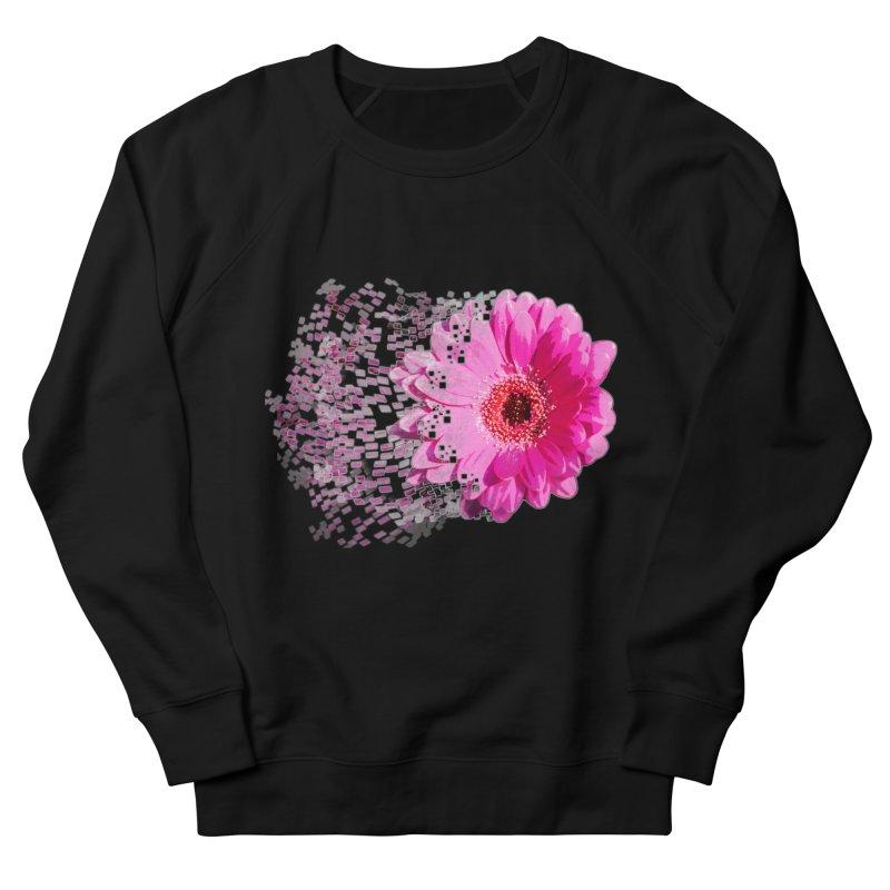 Pink gerbera flower Women's Sweatshirt by Mirabelle Digital Art shop