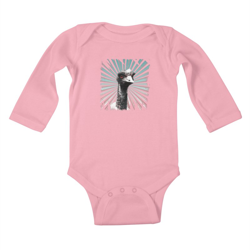 I am glamarous Kids Baby Longsleeve Bodysuit by Mirabelle Digital Art shop