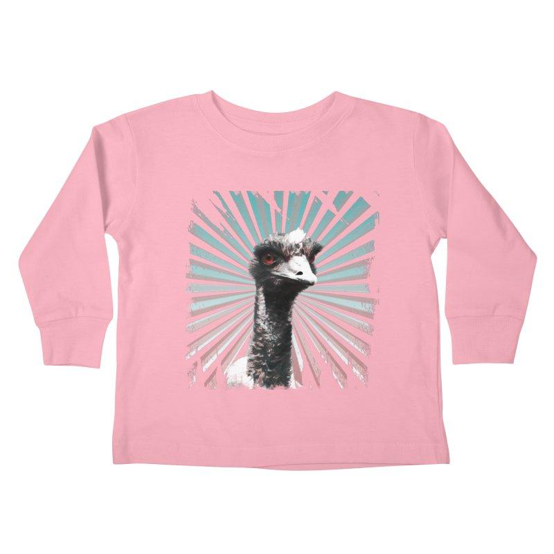 I am glamarous Kids Toddler Longsleeve T-Shirt by Mirabelle Digital Art shop