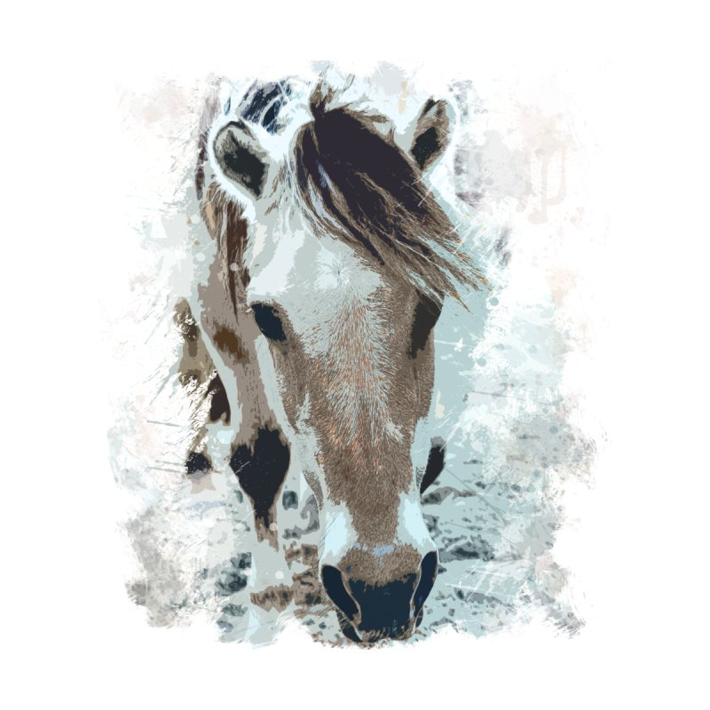 Sweet little horse by Mirabelle Digital Art shop