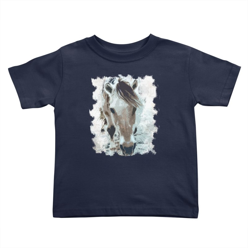 Sweet little horse Kids Toddler T-Shirt by Mirabelle Digital Art shop