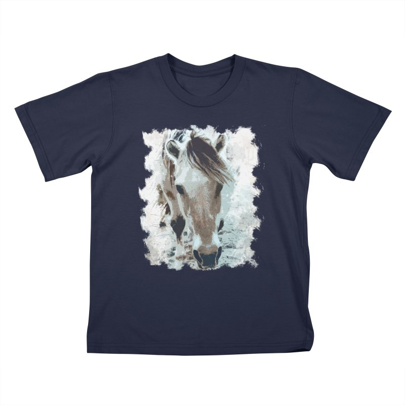 Sweet little horse Kids T-shirt by Mirabelle Digital Art shop