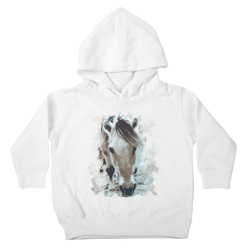 Sweet little horse Kids Toddler Pullover Hoody by Mirabelle Digital Art shop